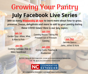 Cover photo for Growing Your Pantry Series