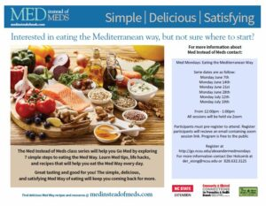 Cover photo for Med Mondays: Eating the Mediterranean Way